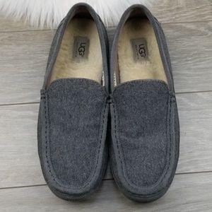 Mens Ugg Slip On Wool Loafers